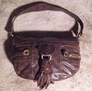 Juicy Couture Small Leather Hobo Handbag